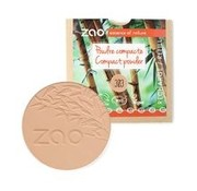 Zao essence of nature make-up  Refill Compact poeder 303 (Brown Beige)