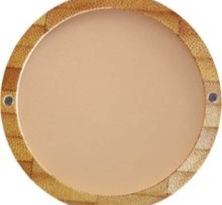 Bamboe Compact poeder 303 (Brown Beige)*