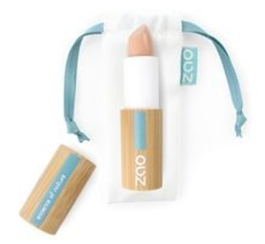 Bamboe Concealer / camouflage  stick 493 (Brown Pink)