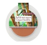 Zao essence of nature make-up  Refill Compact Foundation 735 (Chocolate)