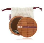 Zao essence of nature make-up  Bamboe Compact Foundation 740 (Dark Mahogany)