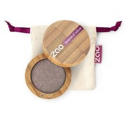 Zao essence of nature make-up  Bamboe Parelmoer Oogschaduw 107 (Brown Grey)