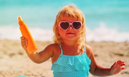 Bescherm je kind goed tegen de zon!