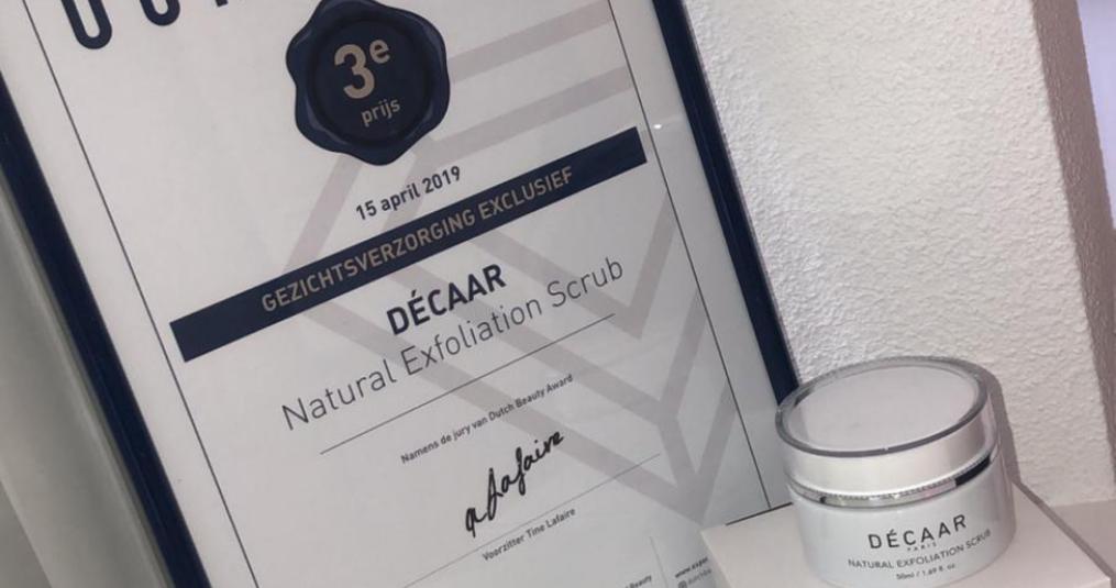 Prijs voor Decaar Natural Peeling scrub masker