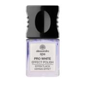 Alessandro Spa Nail PRO WHITE GLITTER  nagellak 5ml