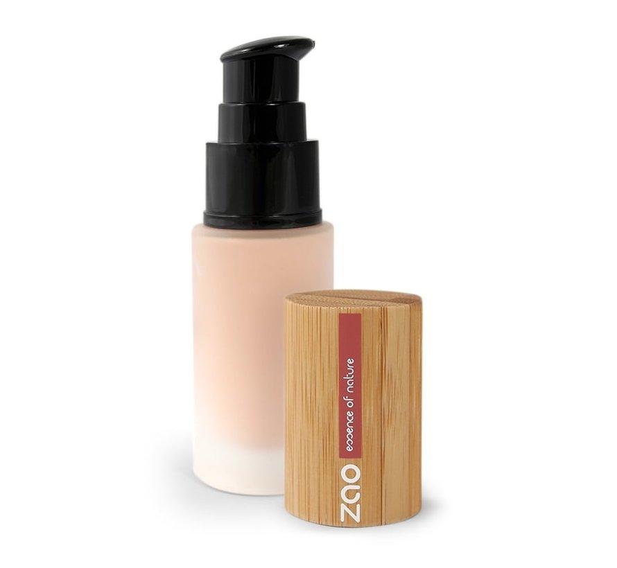 Bamboe Vloeibare Foundation 710 (Light Peach)