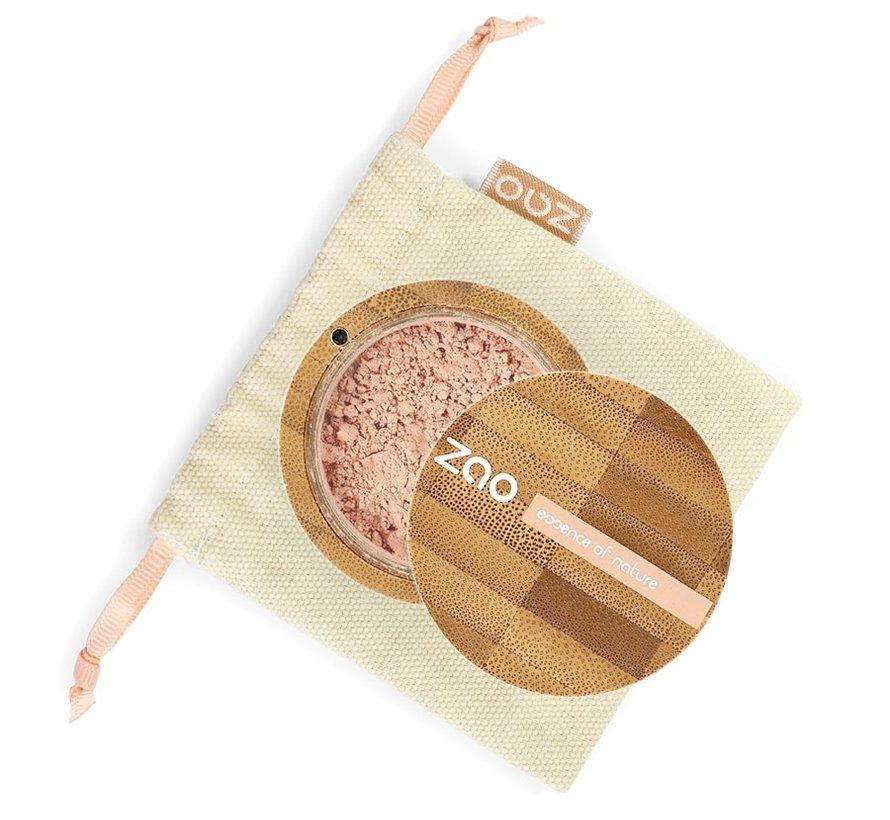 Bamboe Minerale Poederfoundation . 502 (Pinkish Beige)