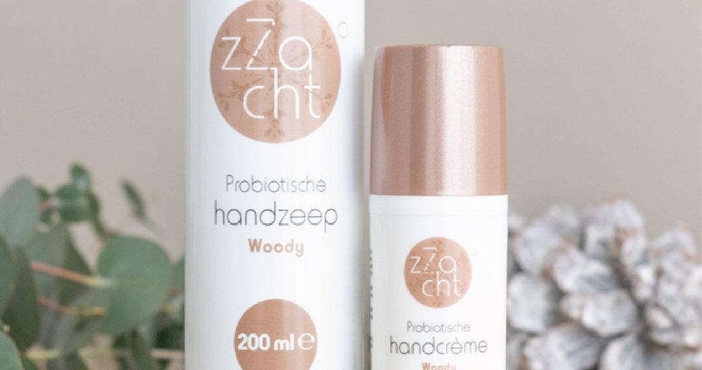 Anti bacteriële handzeep en handcrème van zZacht