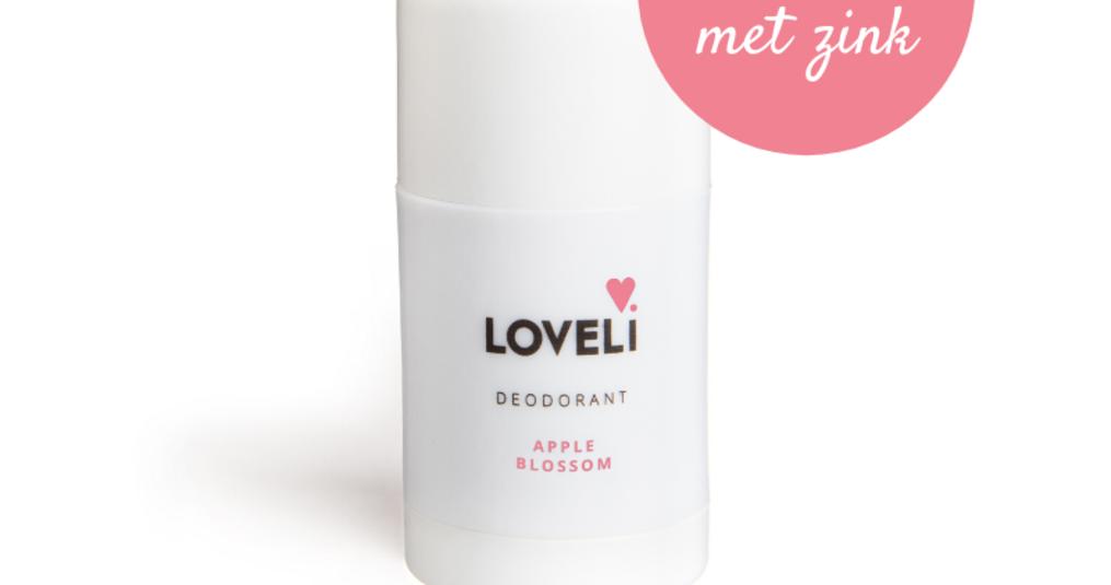 Deodorant nieuws van Loveli