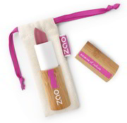 Zao essence of nature make-up  Bamboe Cocoon Lippenstift 411 (London)