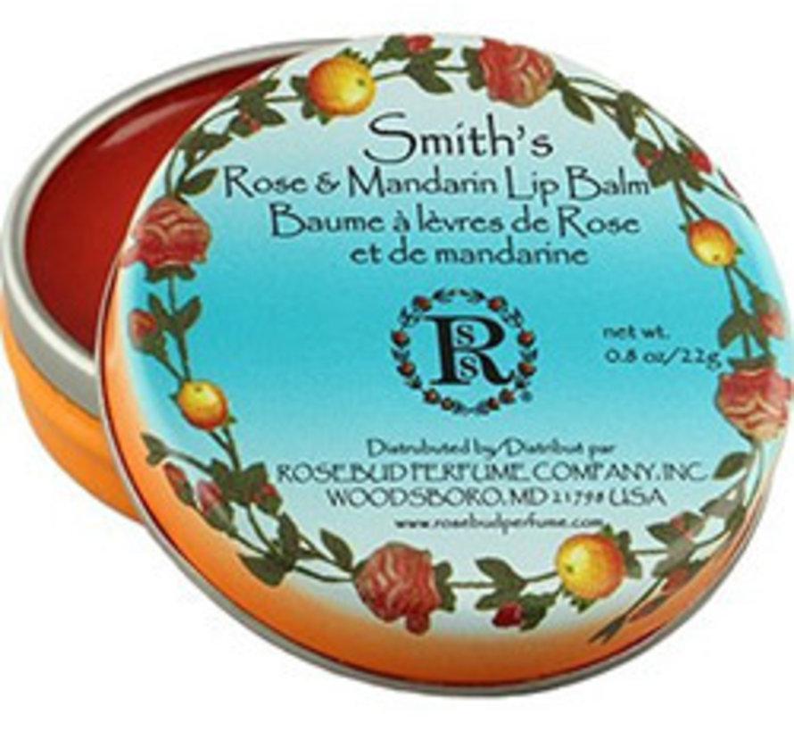 Rose & Mandarin  lipbalm