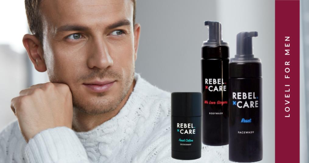 Loveli Rebel for Men is uitgebreid!