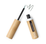 Zao essence of nature make-up  Bamboe Penseel-eyeliner 075 Khaki Green