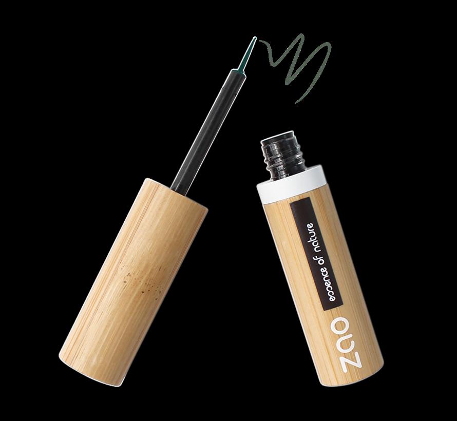 Bamboe Penseel-eyeliner 075 Khaki Green