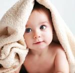 Droge baby huid