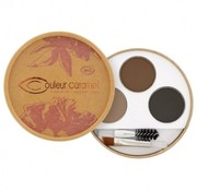 Divaderme Couleur Caramel Sourcils kit brun 28