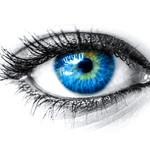 Oogmake-up bij blauwe ogen