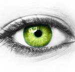 Oogmake-up bij groene ogen