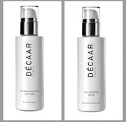 Decaar  Cleansing milk & Ph Balancing lotion voordeel set