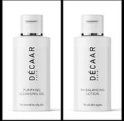 Decaar  Cleansing gel & Ph Balancing lotion miniatuur voordeel set