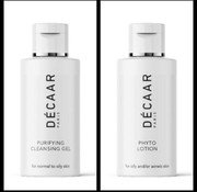 Decaar  Cleansing gel & Phyto lotion miniatuur voordeel set