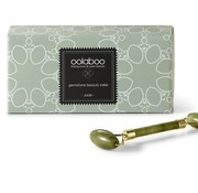 Oolaboo jade beauty roller in luxury black pouch
