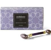 Oolaboo amethist beauty roller in luxury black pouch