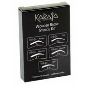 Karaja Wonder Brow Stencil kit