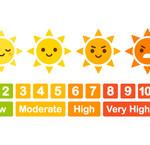 Hoe scherp is de zon vandaag?