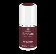 Alessandro Striplac  126 Velvet Red Gel Nagellak 8ml