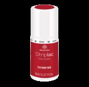Alessandro Striplac 123 Ruby Red Gel Nagellak 8ml