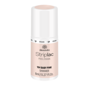 Alessandro Striplac 104 Baby Pink Shimmer Gel Nagellak