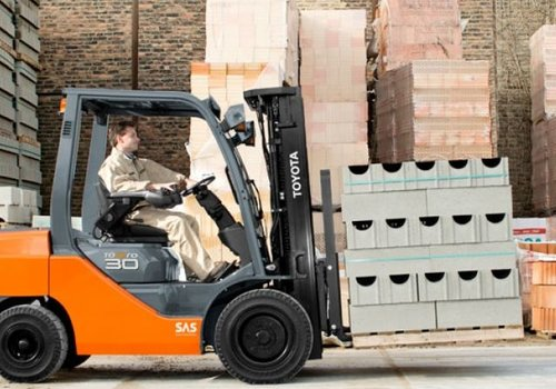 Diesel Heftruck 3.5 ton