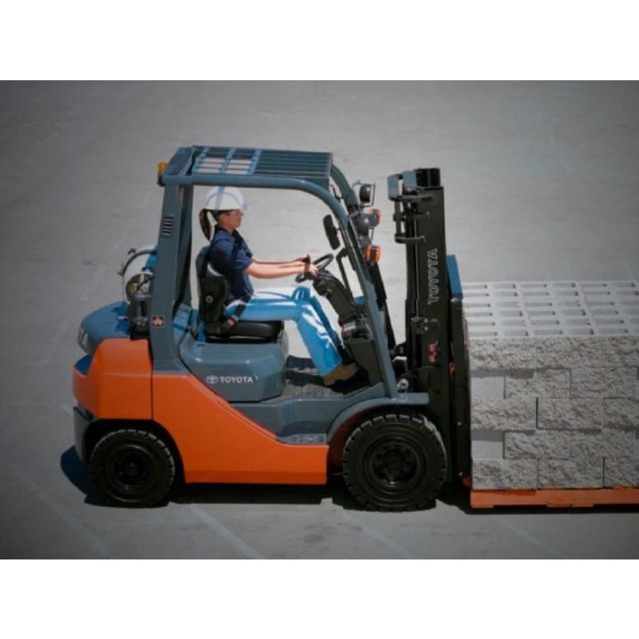 LPG Heftruck huren 3.0 ton