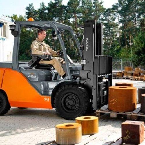 LPG Heftruck 4.5 ton