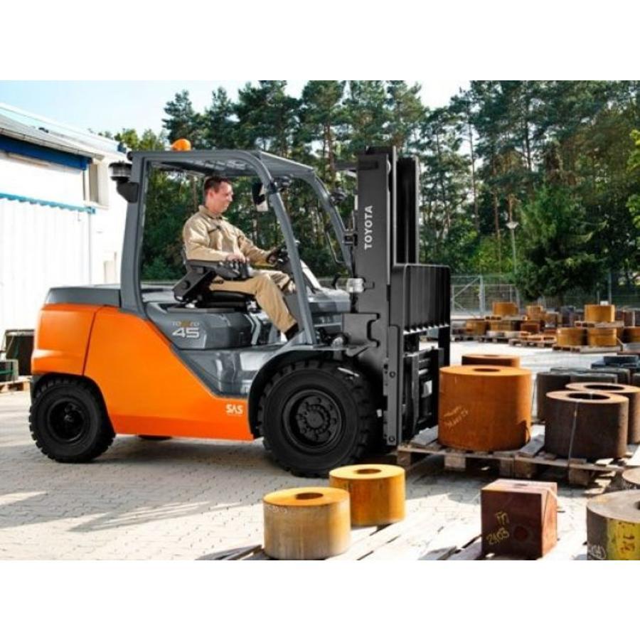 LPG Heftruck huren 4.5 ton