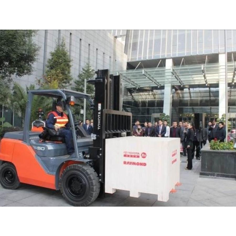 LPG Heftruck huren 5.0 ton