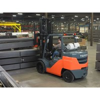 LPG Heftruck huren 6.0 ton