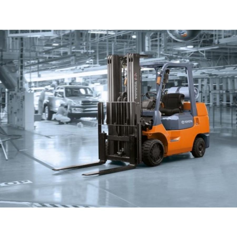 LPG Heftruck huren 7.0 ton