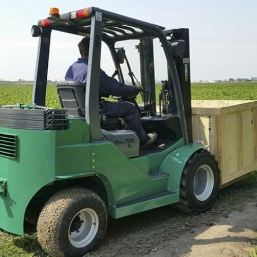 Semi-Ruw Terrein Heftruck 1.5 ton
