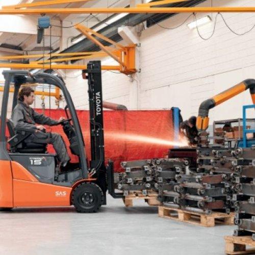Elektrische Heftruck 1.5 ton 3-wiel