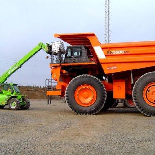 Starre verreiker 6.0 ton en 9.5 meter bereik