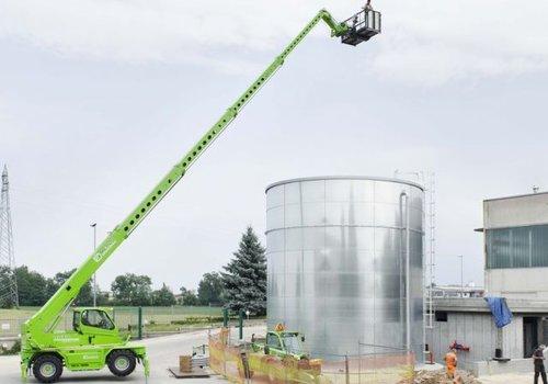 Roterende verreiker 4.0 ton en 26.0 meter bereik