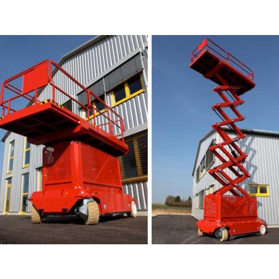 Elektrische schaarlift 17 meter