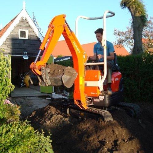 Minigraver 1.0 ton