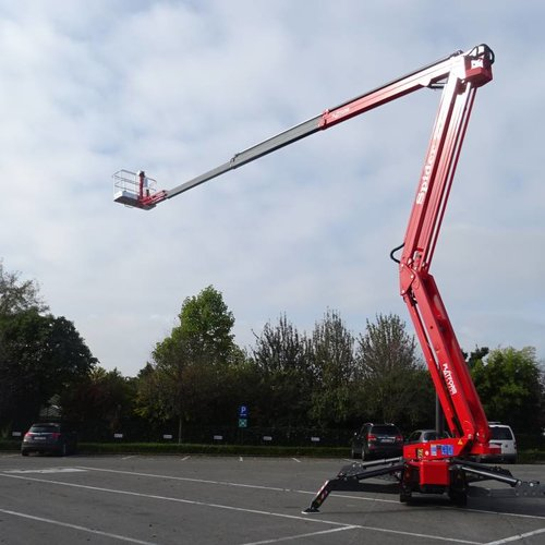 Spinhoogwerker 27 meter