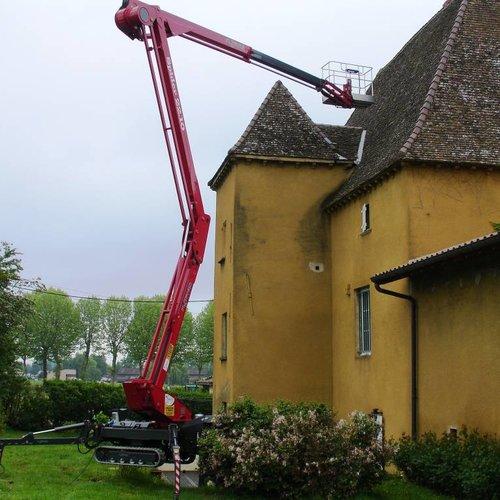 Spinhoogwerker 22 meter