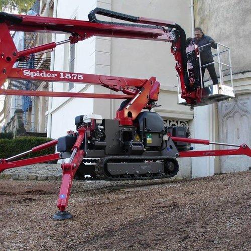 Spinhoogwerker 15 meter