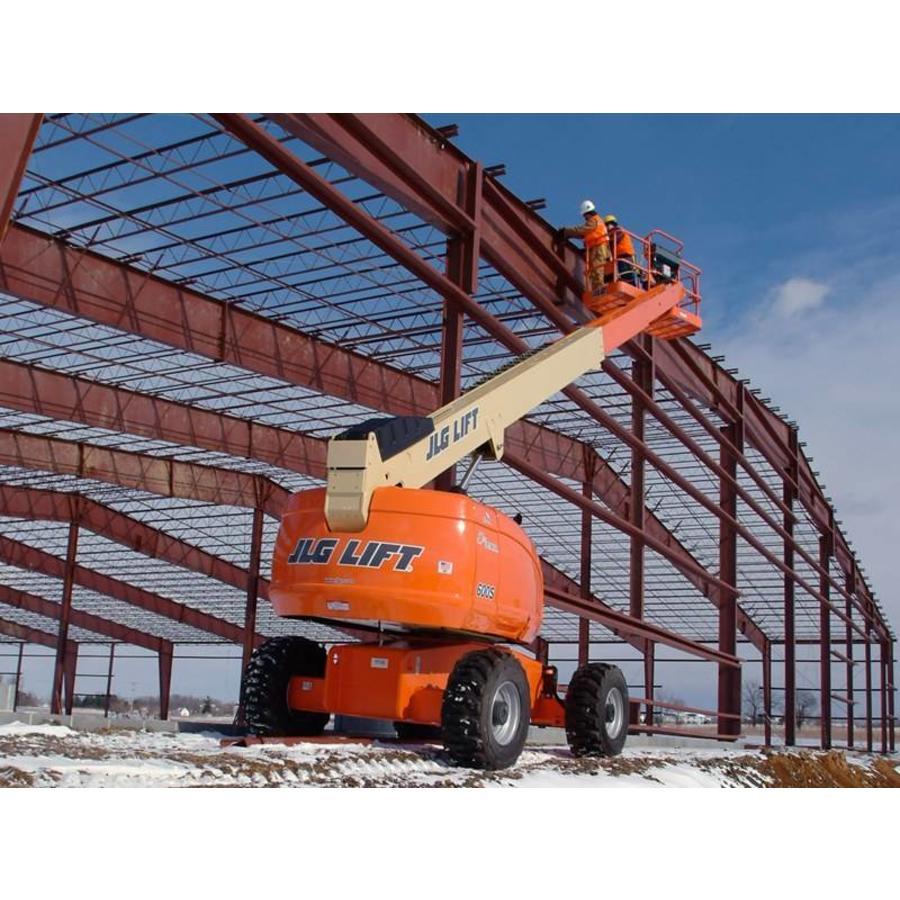 Diesel Telescoophoogwerker 20 meter huren