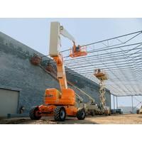 Diesel Knikarmhoogwerker 26 meter huren